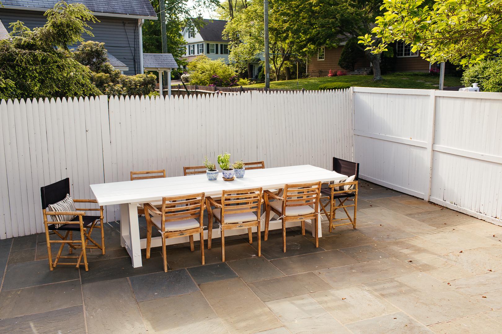 Building an outdoor dining table  Erin Kestenbaum
