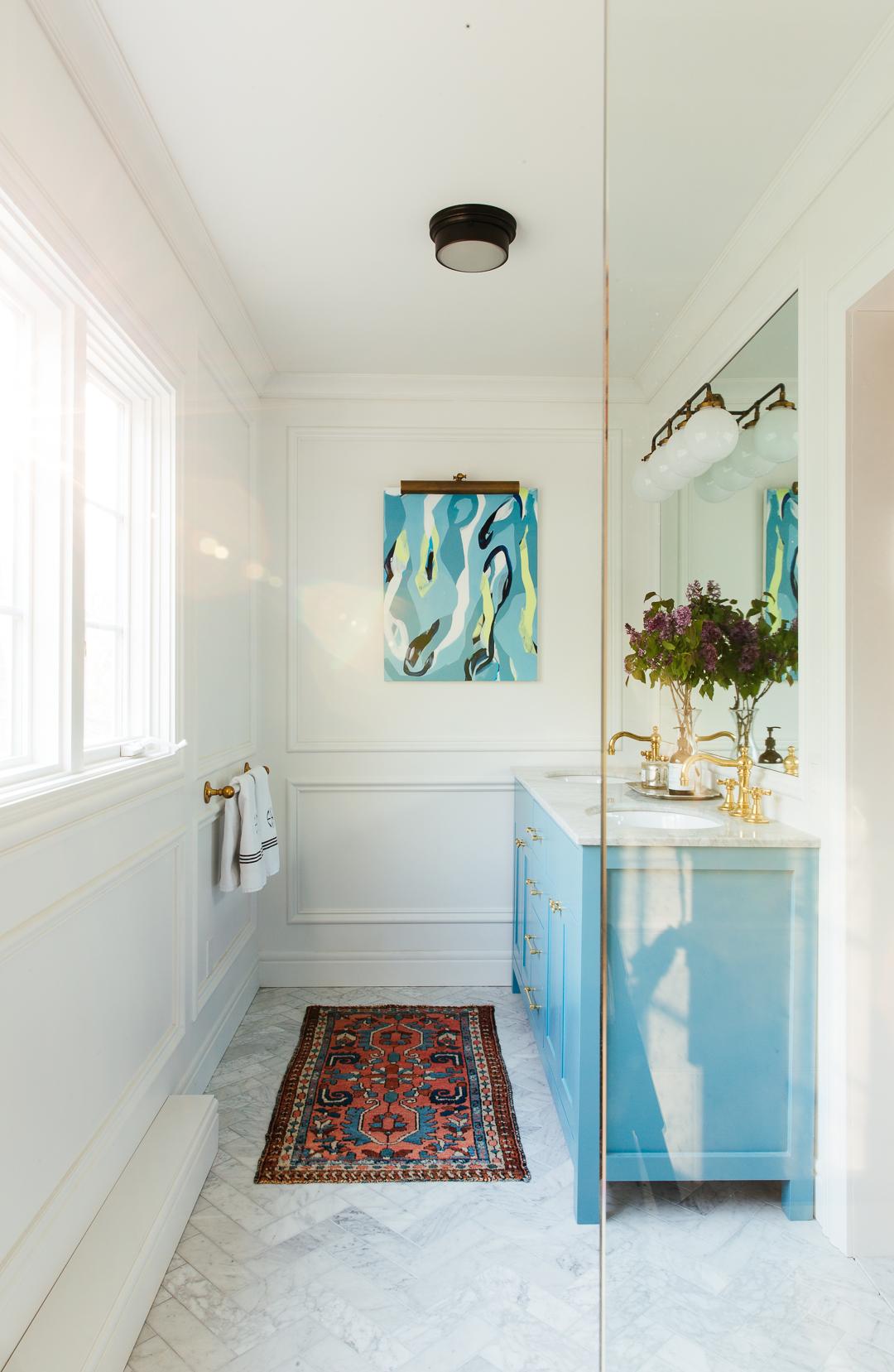 One Room Challenge, Master Bathroom, The Reveal! – Erin Kestenbaum